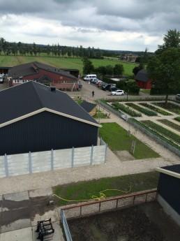 lucht foto boerderij